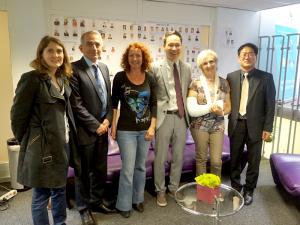 L'AEPI, Digital Grenoble, inovallée et le Tarmac réunis pour accueillir une délégation coréenne