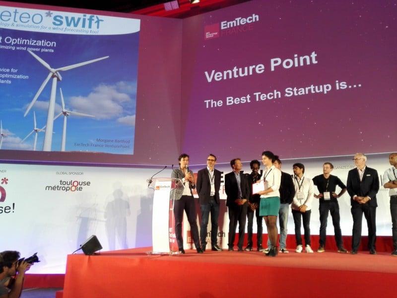 3 prix d'innovation pour sa solution de prévision de l'énergie éolienne : meteo*swift a le vent en poupe !