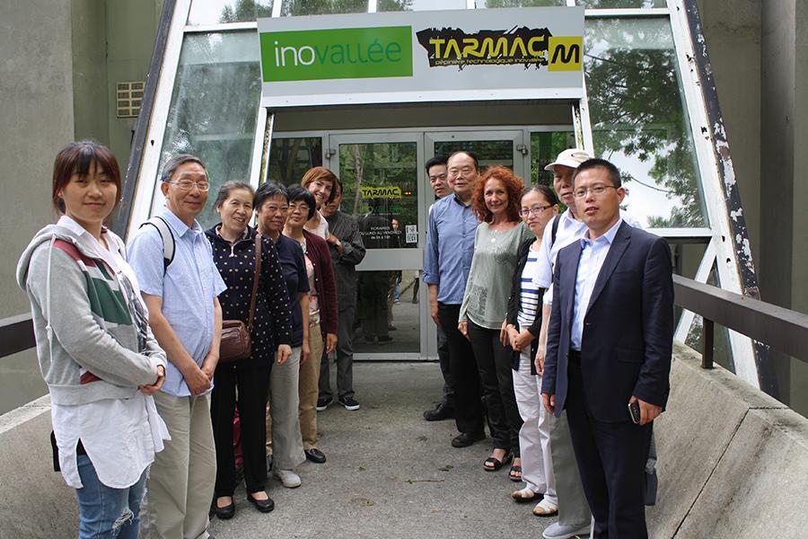 Partage d'expérience internationale : le Tarmac reçoit des personnalités de Shanghai dans le cadre d'une short school de l'IAE
