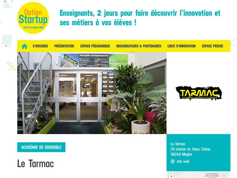 À l'occasion du programme national Option Startup, le Tarmac ouvre ses portes aux collégiens et lycéens