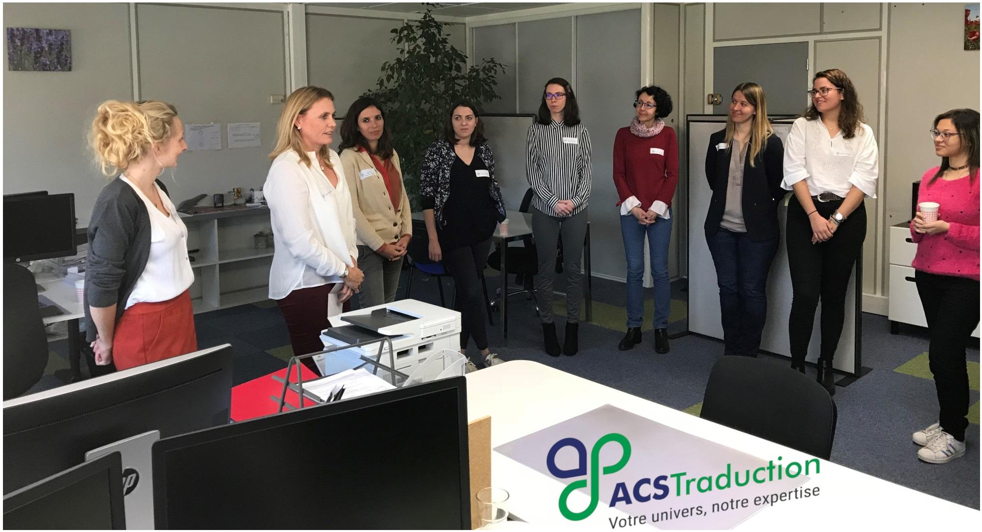 [INAUGURATION] ACS Traduction ouvre ses portes aux entreprises d'inovallée et présente ses outils innovants pour faciliter la traduction
