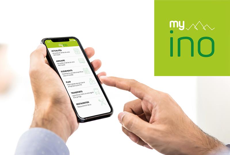 L'appli Myino facilite la vie des usagers de la technopole autour d'une vision forte « tech for human »
