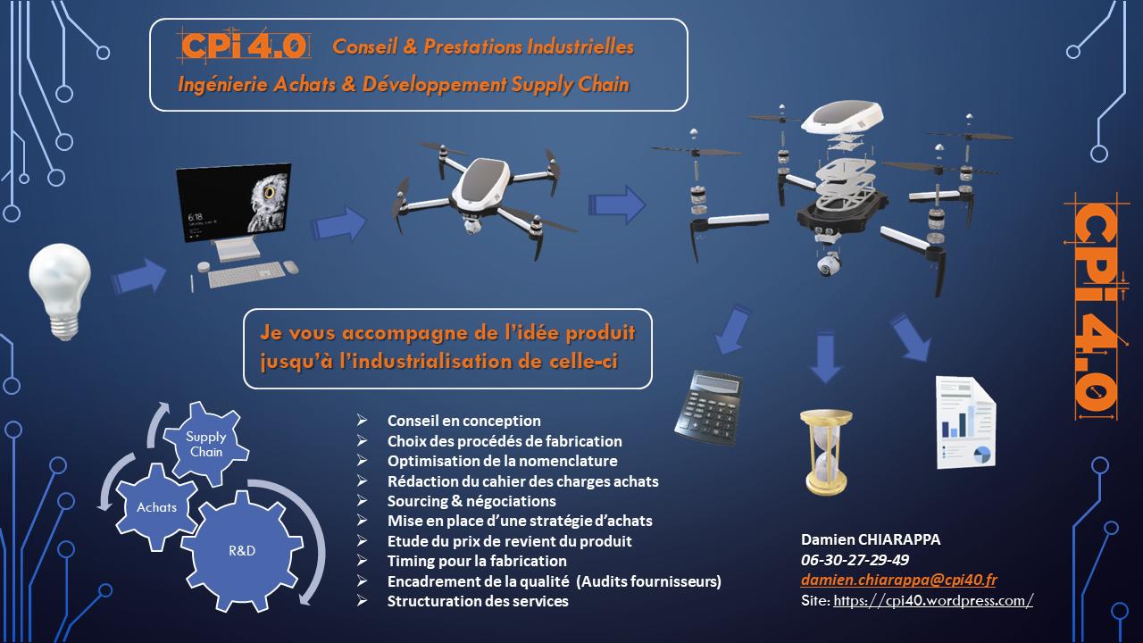CPi 4.0 : Un accompagnement industriel pour une vision  de la chaine produit à 360°.