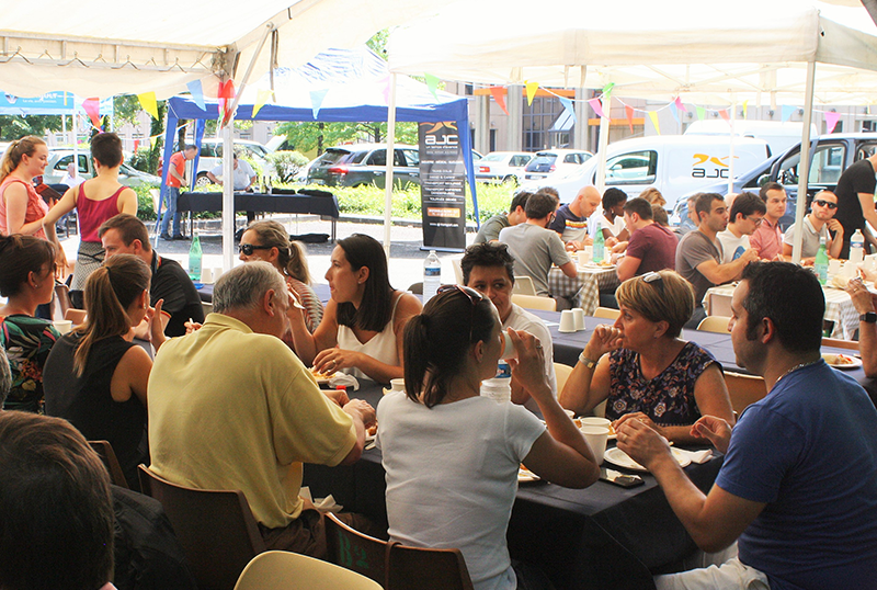 L'HAPPY'culture s'est invitée au dernier barbecue d'inovallée !
