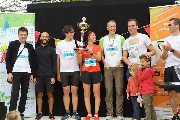 Cross 2019… Tiempo SAS remporte le Challenge inter-entreprises !