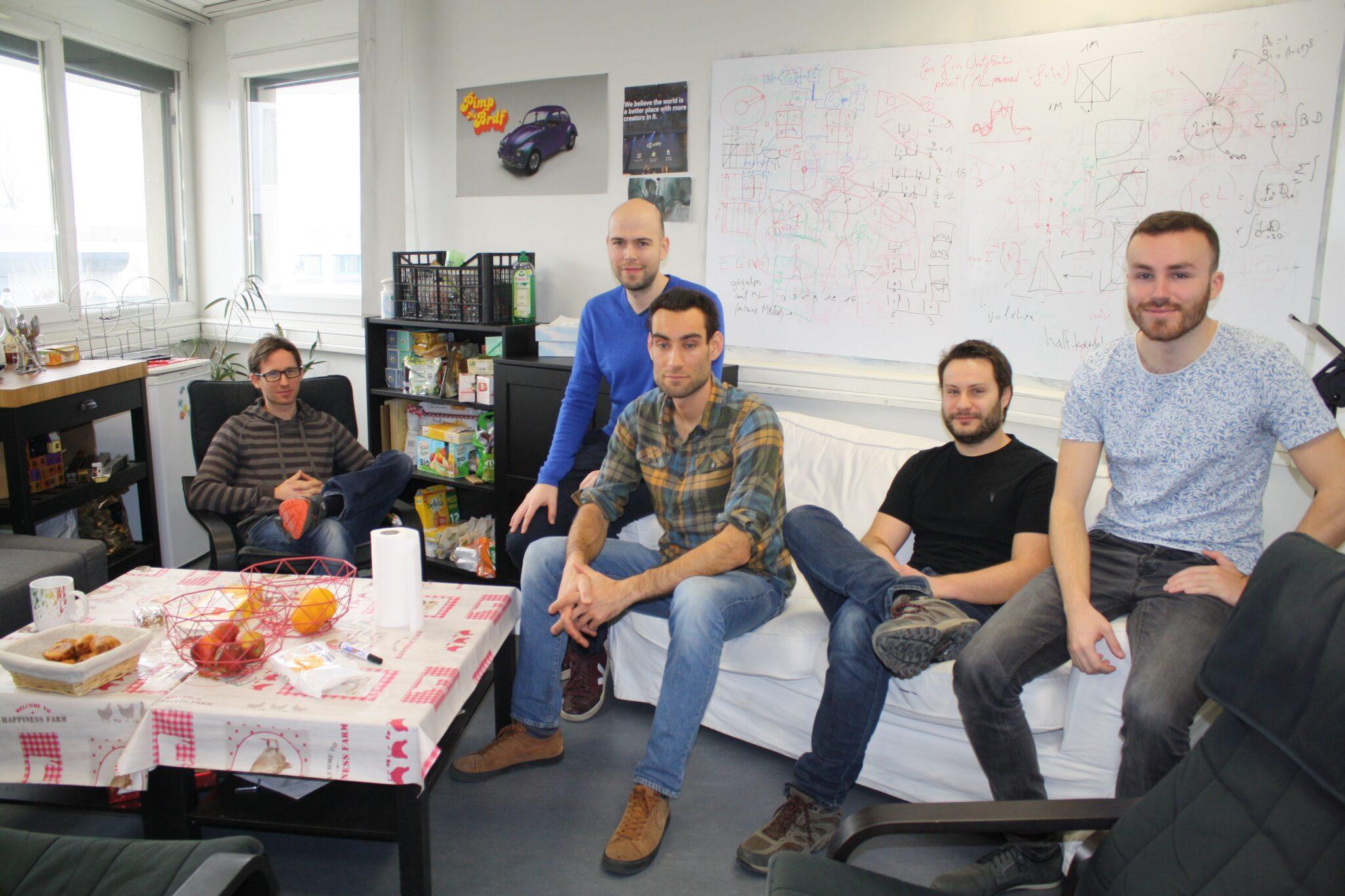 L'Atelier numérique abrite l'une des 3 équipes de Recherche mondiales de Unity !