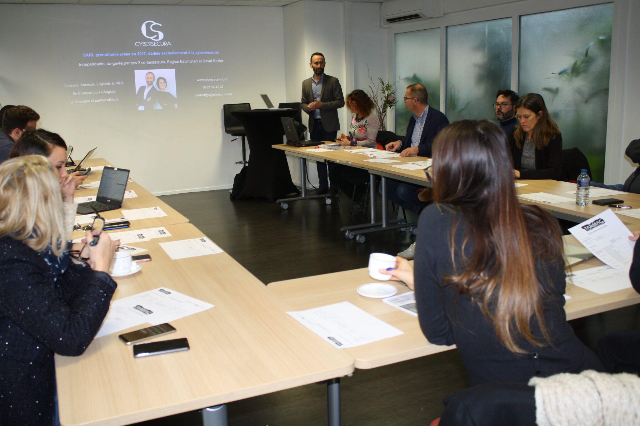 Cybersecura, projet MedTech et Caeli : 3 nouveaux entrepreneurs sélectionnés pour rejoindre le Tarmac !
