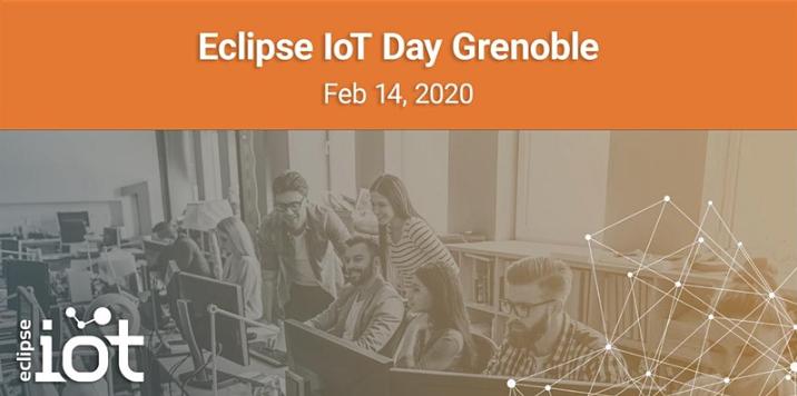 [14 février] Eclipse IoT Day Grenoble : un éclairage sur les technologies open source innovantes dans le domaine des objets connectés
