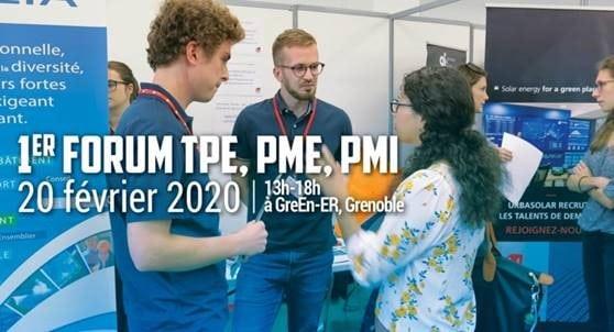 [RECRUTEMENT] Grenoble INP, institut d'ingénierie et de management de l'Université Grenoble Alpes, organise son premier forum destiné aux TPE, PME et PMI
