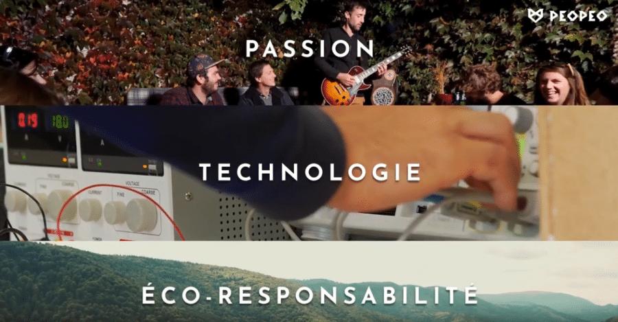 PEOPEO : les premières enceintes Handmade in France qui allient passion, performance et éco-responsabilité pour les particuliers et les entreprises engagées