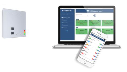 [Prévention Covid au Travail] DomNexX lance un nouveau capteur de surveillance temps réel du risque Covid dans les lieux clos pour aider les entreprises et ERP à remplir leurs obligations légales