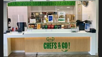 Une nouvelle caisse Pix & Go dans vos RIE pour un passage rapide et automatique et toujours la livraison de repas en entreprise !