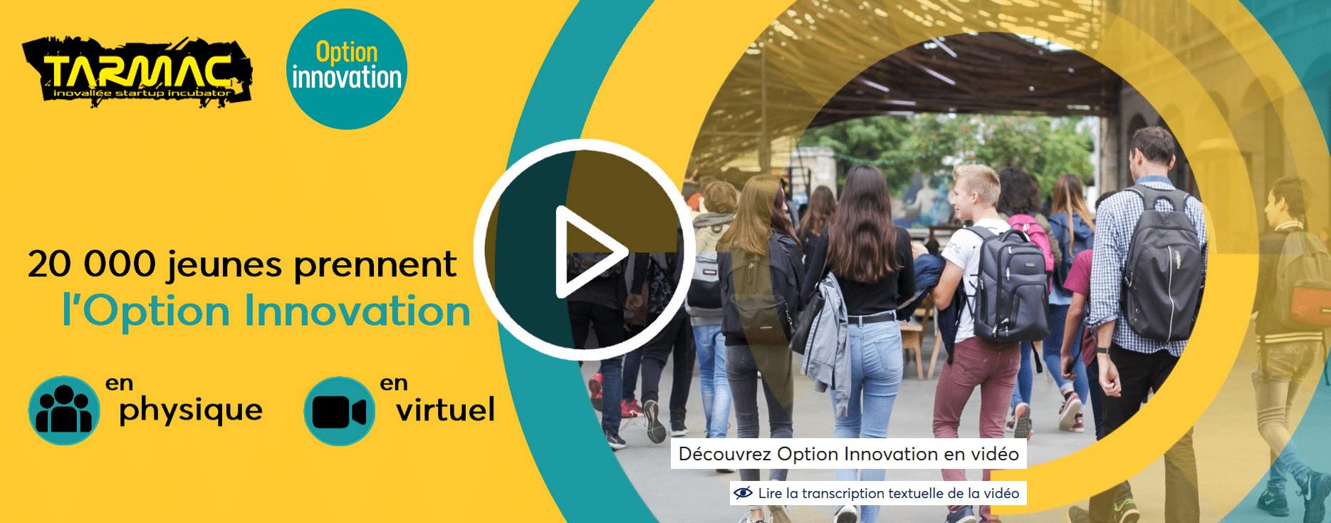 Sensibilisation à l'entrepreneuriat : Le Tarmac participe au programme national Option innovation aux côtés de Digital League