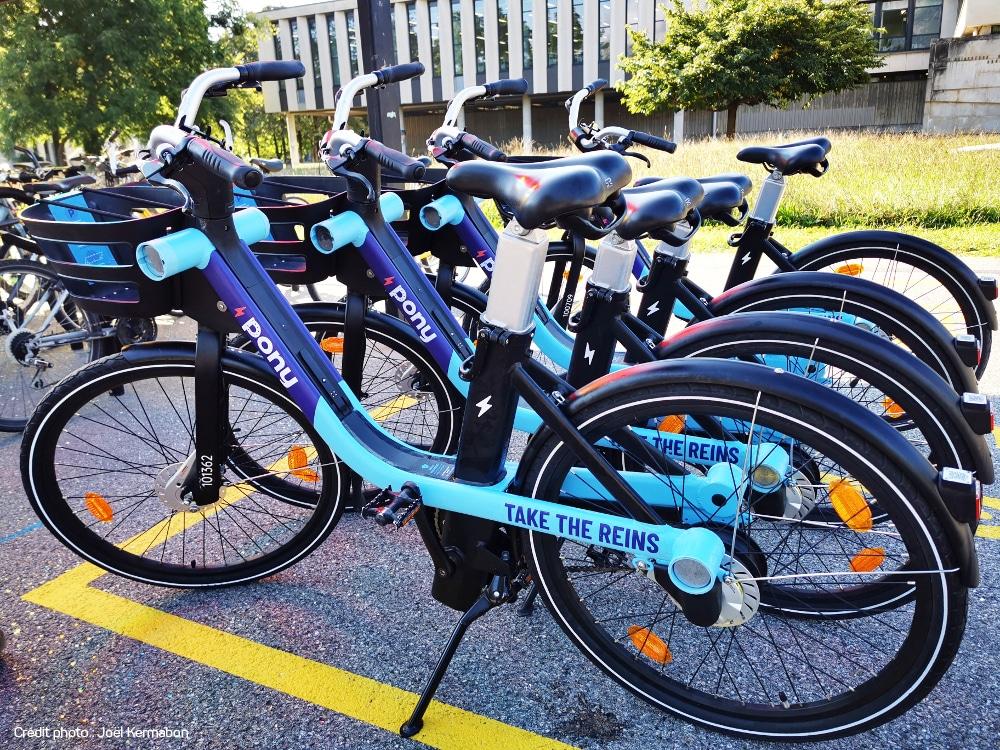 Les VAE, vélos à assistance électrique, font leur entrée sur inovallée!