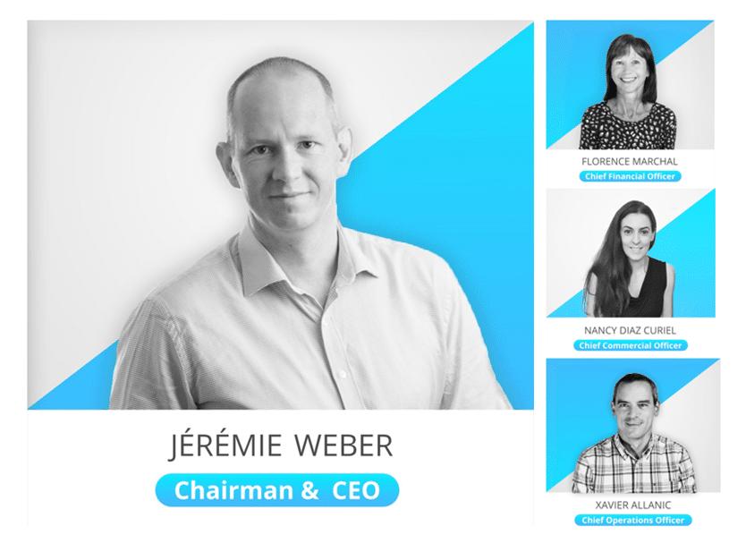Nouvelle organisation à la tête de Digigram : un trio de directeurs nommé pour porter une stratégie ambitieuse sous la houlette de Jérémie Weber