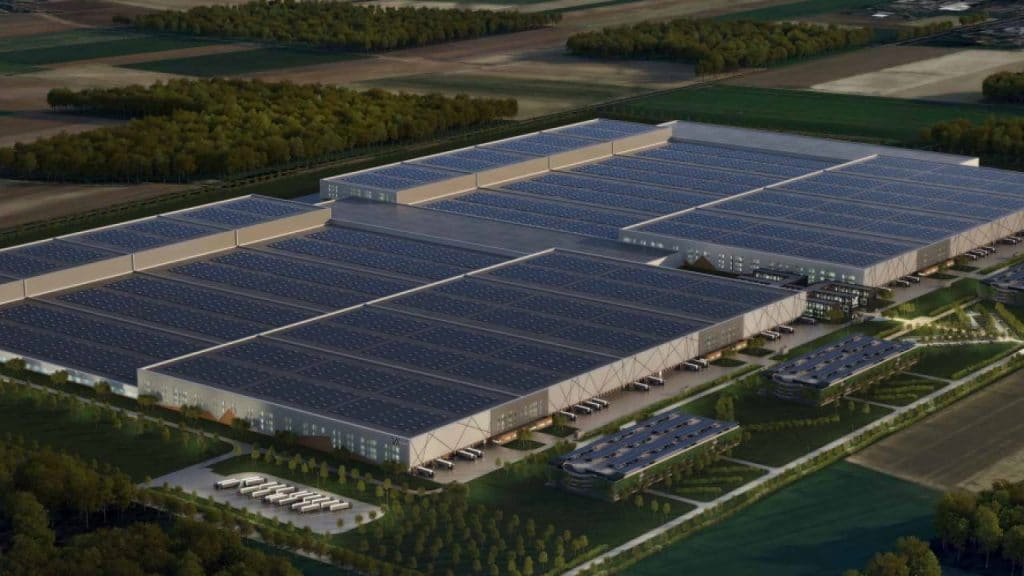 La future usine de batteries bas carbone de Verkor