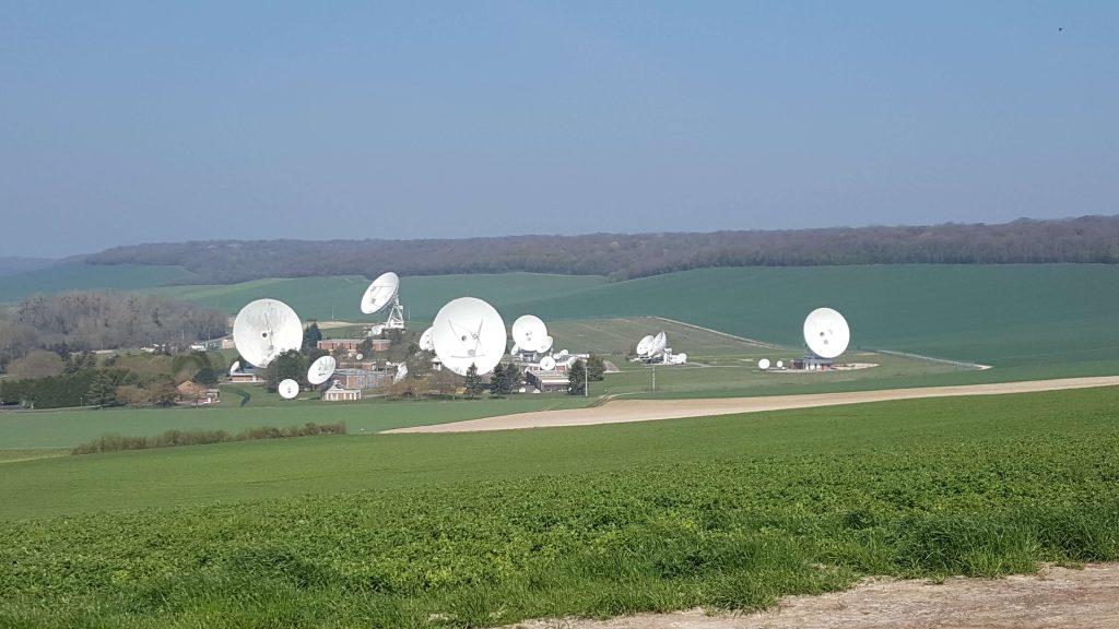 Antennes satellites d'Orange