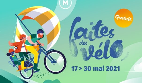 #Mobilité et #animation – «Faites du vélo 2021» le 17 et 18 mai sur inovallée !