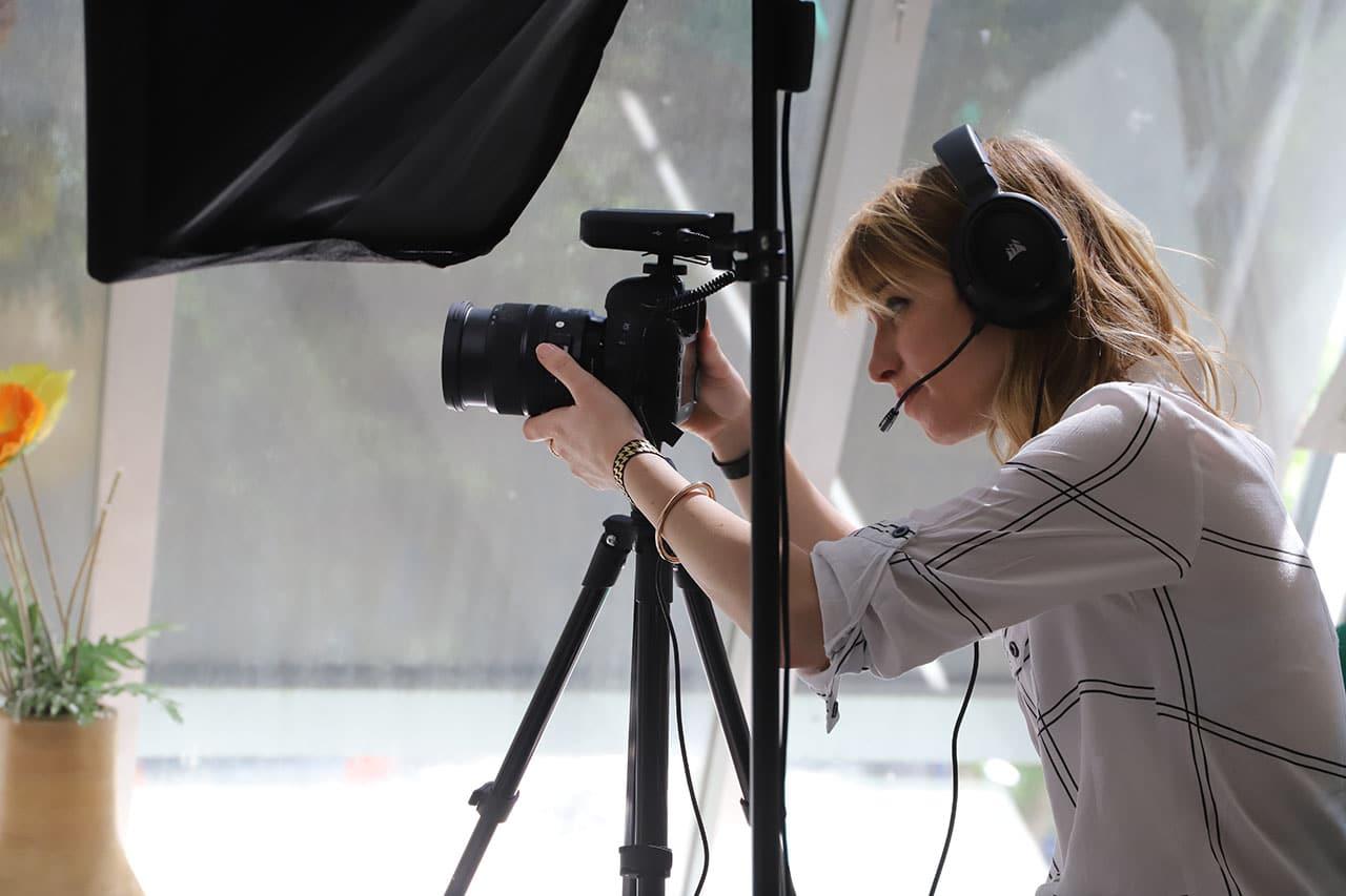 Auguste tournage