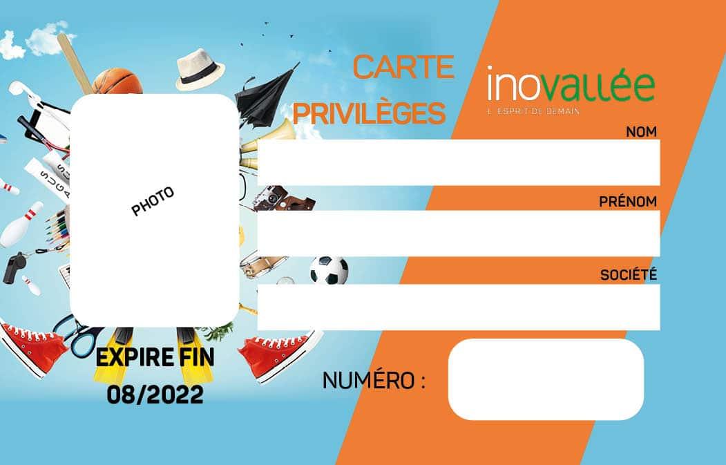 Carte privilèges inovallée saison 2021-2022 : faire marcher le commerce de proximité et augmenter son pouvoir d'achat