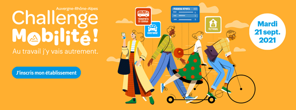 Semaine européenne de la mobilité : village mobilité organisé par la Ville de Meylan le 9 septembre prochain et challenge régional de la mobilité le 21 !