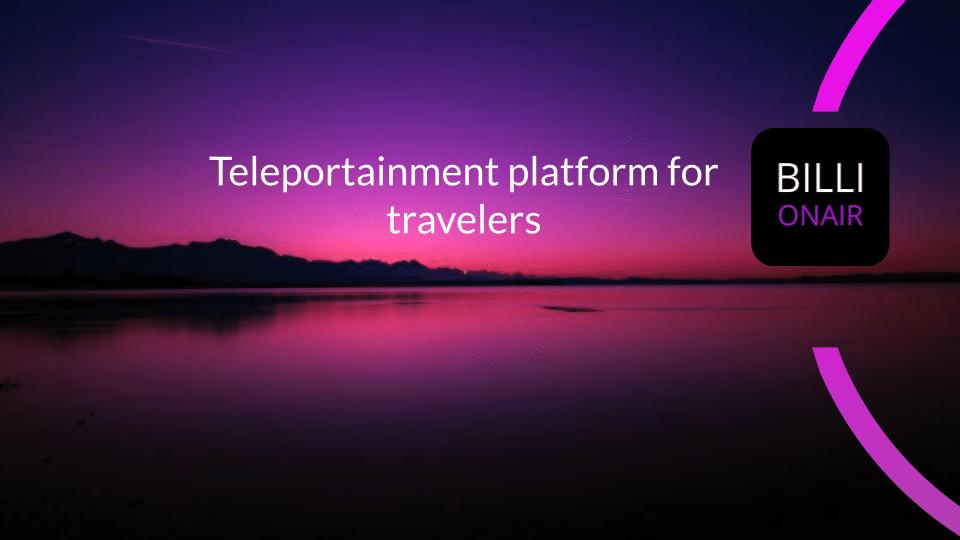 TELEPORTOUR : révolutionner l'expérience du voyage par la vidéo immersive temps réel 360°