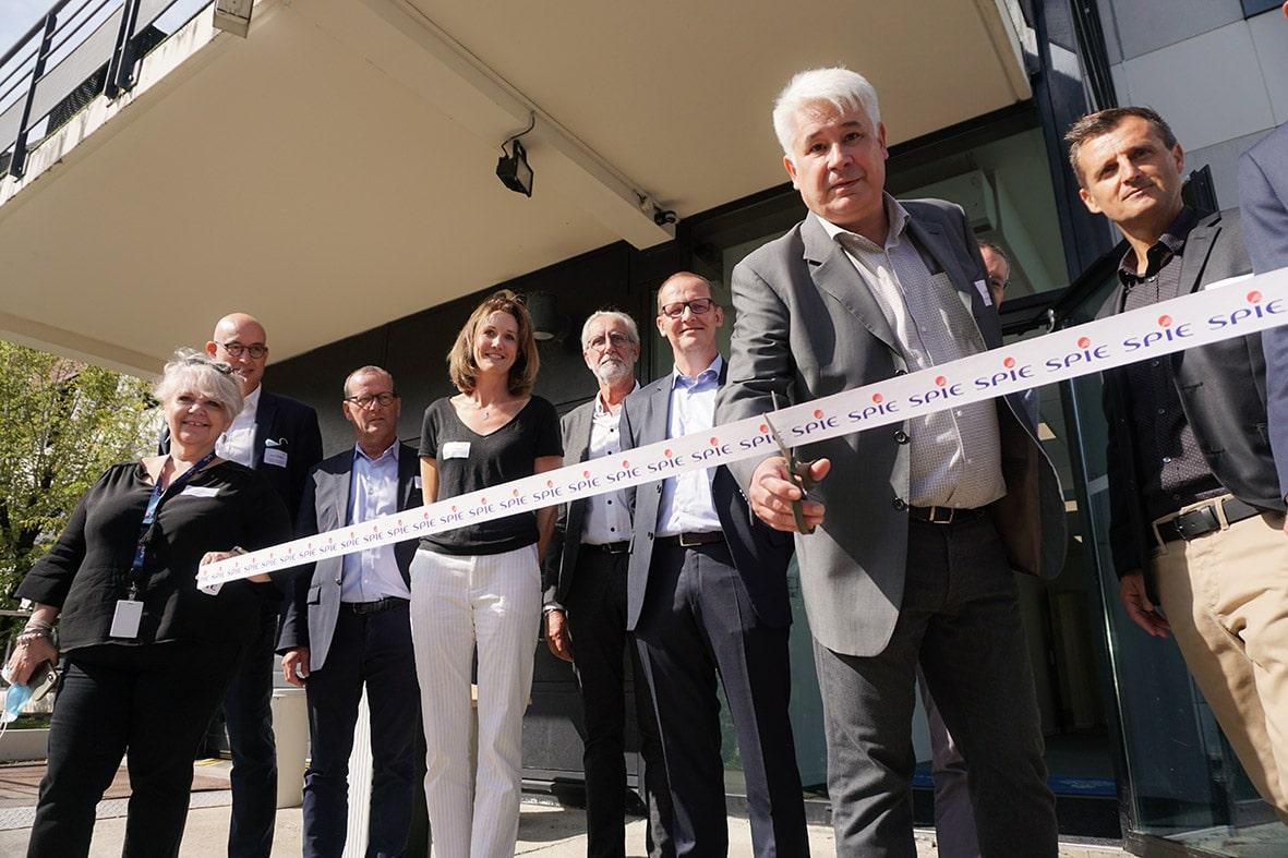 SPIE ICS inaugure son tout nouveau centre sur inovallée Montbonnot et en profite pour faire la démonstration de ses expertises locales en matière de services managés alliant sûreté et cybersécurité