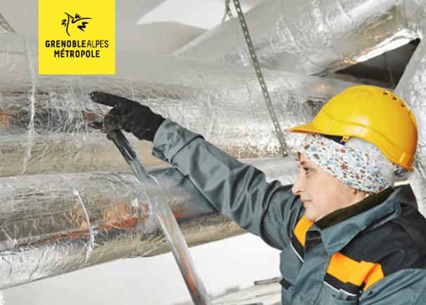 Performance énergétique des TPE / PME : découvrez le dispositif MUR MUR de Grenoble Alpes Métropole (jusqu'à 37K€ de subvention)
